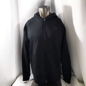 Champion Hooded Sweatshirt 			Size L